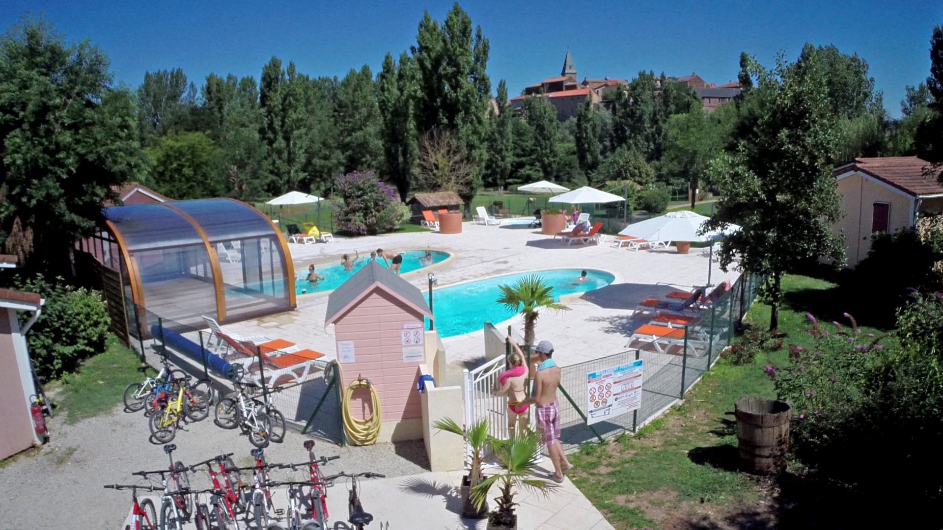Activit gite en aveyron piscine chauff e etc couverte for Vacances en aveyron avec piscine